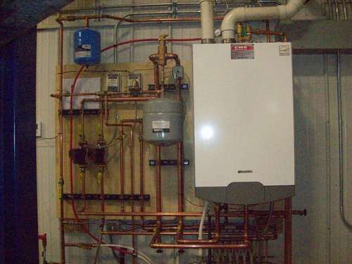 Heating Efficient Boiler Project