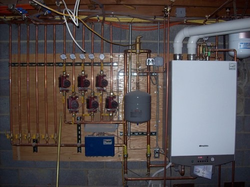 Heating And Cooling Remodel Boiler Project