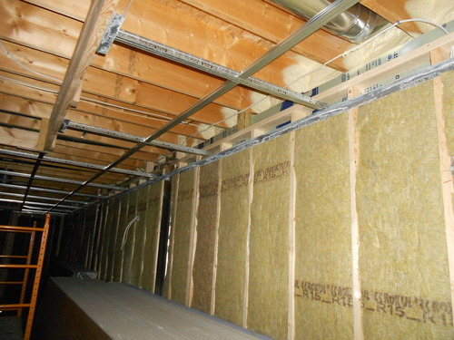 Heating And Cooling Basement Project