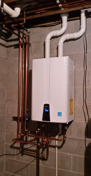 What are the different types of water heaters?